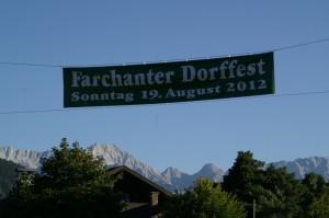 Dorffest Farchant 2012