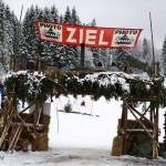 """Das historische Skirennen """"NostalSki"""" am Barmsee-Lift in Krün"""